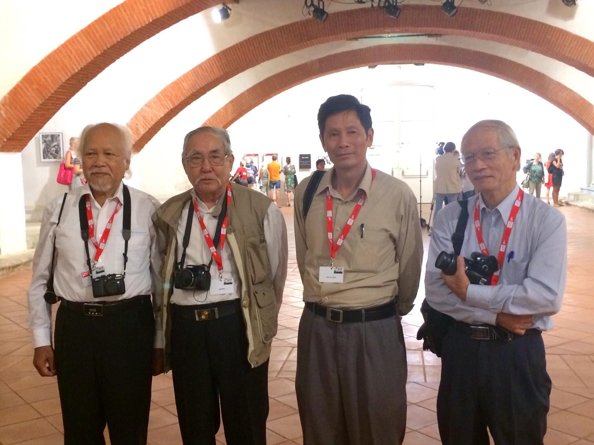 Hua Kiem, Mai Nam, Chu Chi Thành, Doan Công Tinh, les 4 photographes vietnamiens invités à Visa pour l'image.