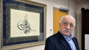 Fethullah Gulen, ici chez lui en Pennsylvanie le 29 juillet 2016, encourt la déchéance de la nationalité turque.