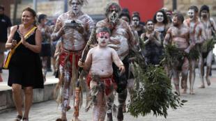 Australie - Sydney - Fête nationale - Aborigènes