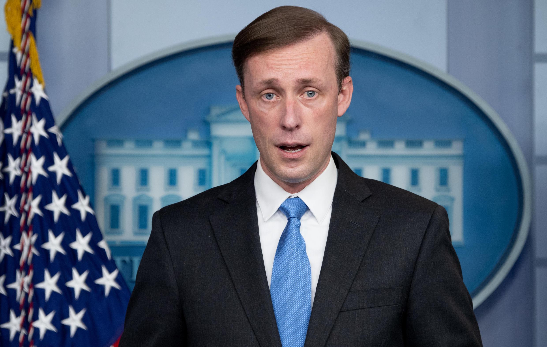 美國總統拜登的白宮國安顧問沙利文 Jake Sullivan 2021年2月4日