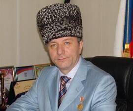 Министр Культуры Чеченской республики Дикалу Музакаев