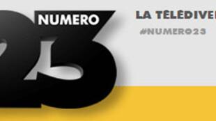 Logo de la chaîne de télévision Numéro 23.