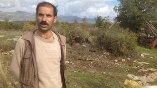 Mohammed, a farmer who has witnessed much fighting in the area.