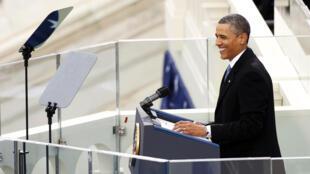 Barack Obama este 21 de enero de 2013.