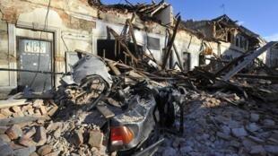 AP20364541076153 Croatie tremblement de terre séisme