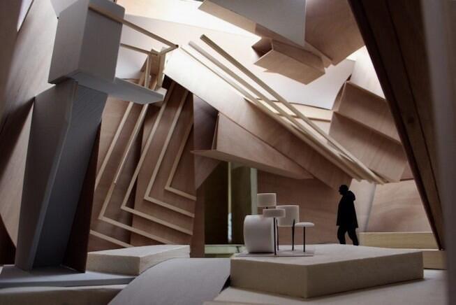 L'installation «Studio Venezia», de l'artiste français Xavier Veilhan, à la 57e Biennale de Venise.