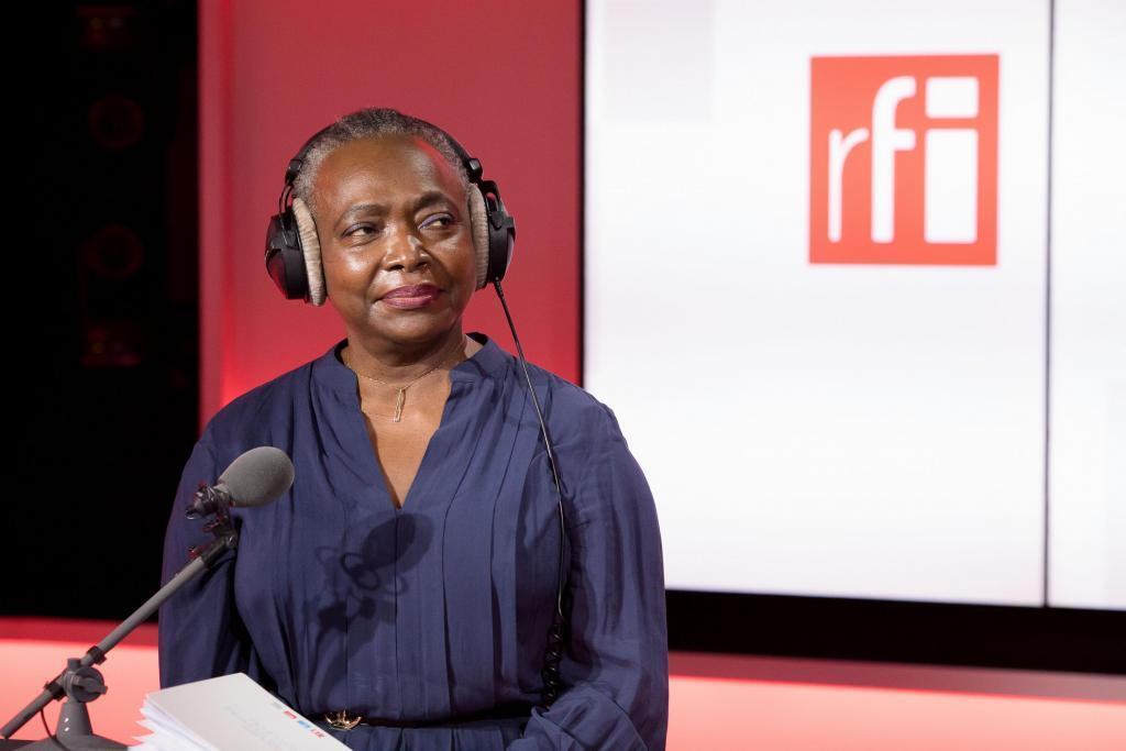Denise Époté, membre du jury de la Bourse Ghislaine Dupont-Claude Verlon 2020, sur le plateau de «7 milliards de voisins».