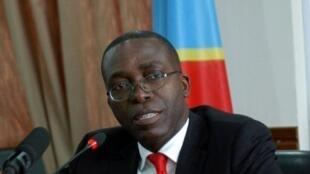 L'ancien Premier ministre de RDC Augustin Matata Ponyo à Kinshasa, le 19 avril 2012 au lendemain de sa nomination.