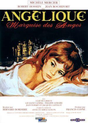 """Bích chương quảng cáo phim """"Angelique"""", đạo diễn Bernard Borderie, sản xuất năm 1964."""