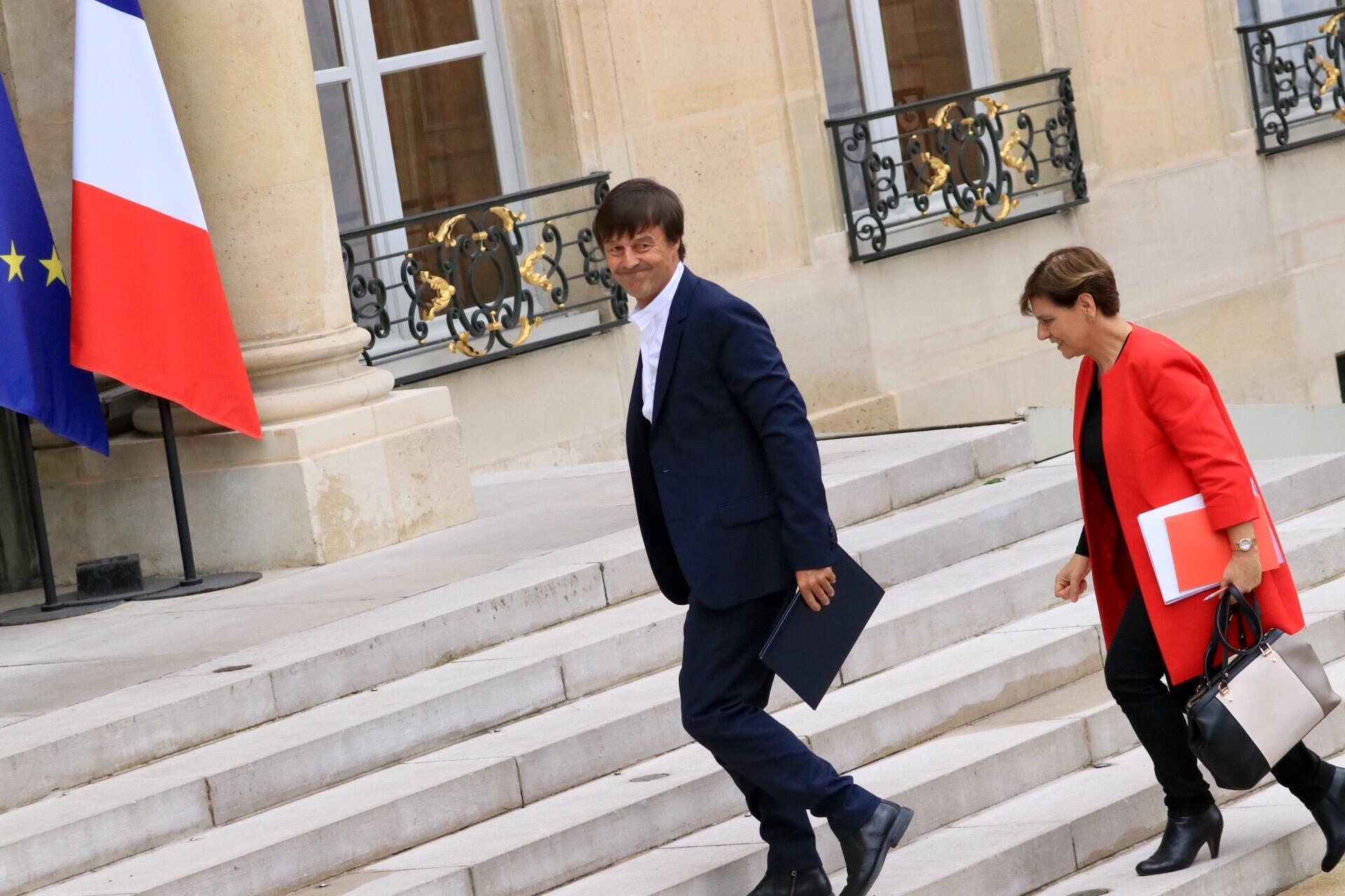 O ministro da Transição Ecológica e Solidária, Nicolas Hulot.