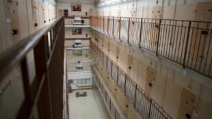 La prison des hommes de Fresnes, symbole de la situation carcérale en France.