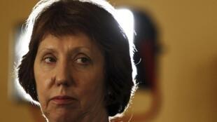 Глава европейской дипломатии Кэтрин Эштон в Каире 30/07/2013