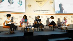 Dirigeantes africaines, lors de la précédente rencontre Women in business, organisée lors de l'Africa CEO Forum en juillet 2018.