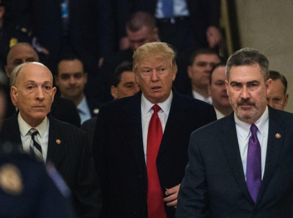Donald Trump akutana na wabunge kutoka chama cha Republican, Machi 21, 2017 katika Washington.
