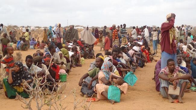 Sehemu ya wakimbizi wa Somalia wanaopatiwa hifadhi kwenye kambi ya Daadab nchini Kenya