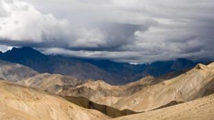 La région himalayenne du Ladakh.
