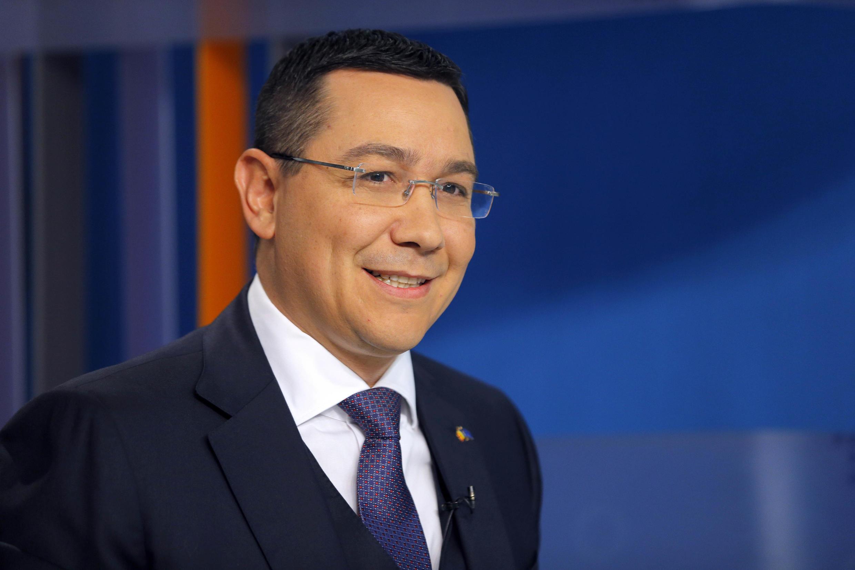 Thủ tướng Rumani Victor Ponta đang bị điều tra về tội trốn thuế và rửa tiền - AFP / ROBERT GHEMENT
