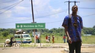Mocímboa da Praia, em Cabo Delgado, norte de Moçambique, onde se deu o 1° ataque em Outubro de 2017.