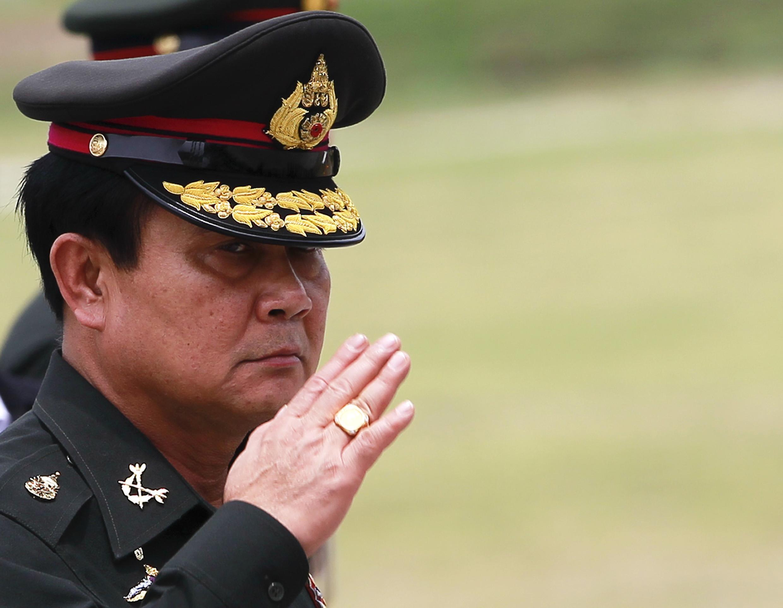 Tân thủ tướng Thái, Prayut Chan  O Cha. Ảnh ngày 21/08/2014.
