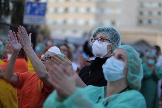 Jami'an Kiwon Lafiya na cikin wadanda suka sadaukar da rayukansu a yaki da coronavirus a Spain