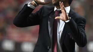 Abel Ferreira, treinador português do Sporting de Braga.