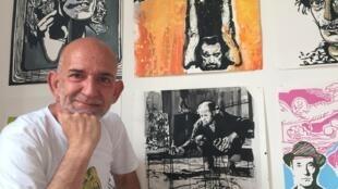 Pedro Amaral na galeria Shiki Miki Paris.