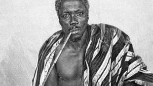 Behanzin, Roi du Dahomey.