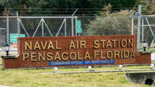 Căn cứ quân sự Pensacola, bang Florida, Hoa Kỳ, sau vụ nổ súng ngày 06/12/2019 làm 3 lính Mỹ thiệt mạng.