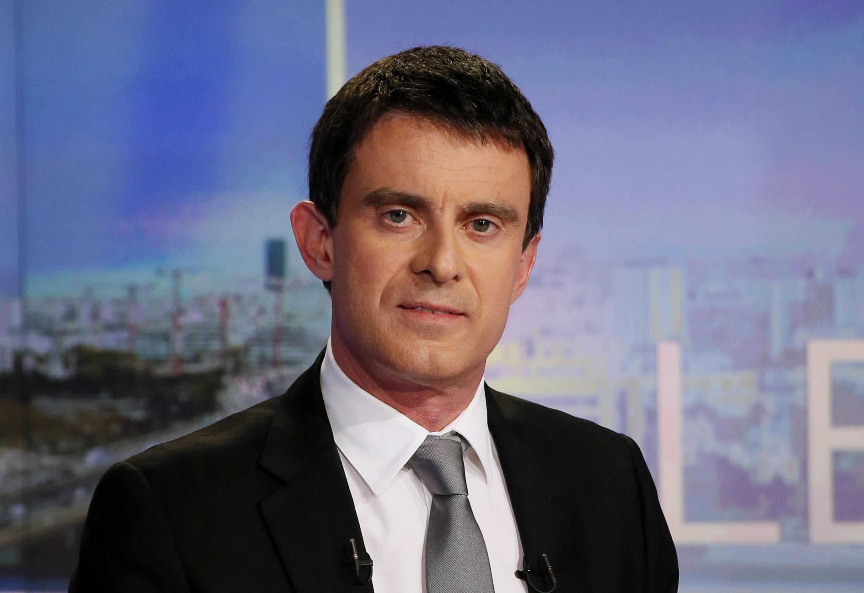 Manuel Valls on TV last week