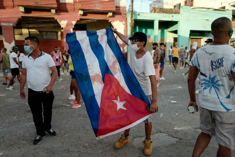 Manifestations à Cuba contre le gouvernement le 11 juillet 2021