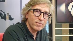 David Trueba en los estudios de RDI
