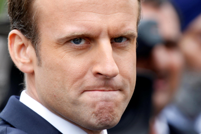 Ảnh minh họa :Tổng thống Pháp Emmanuel Macron đang  bị mất tín nhiệm trầm trọng. Ảnh chụp ngày 26/07/2017.