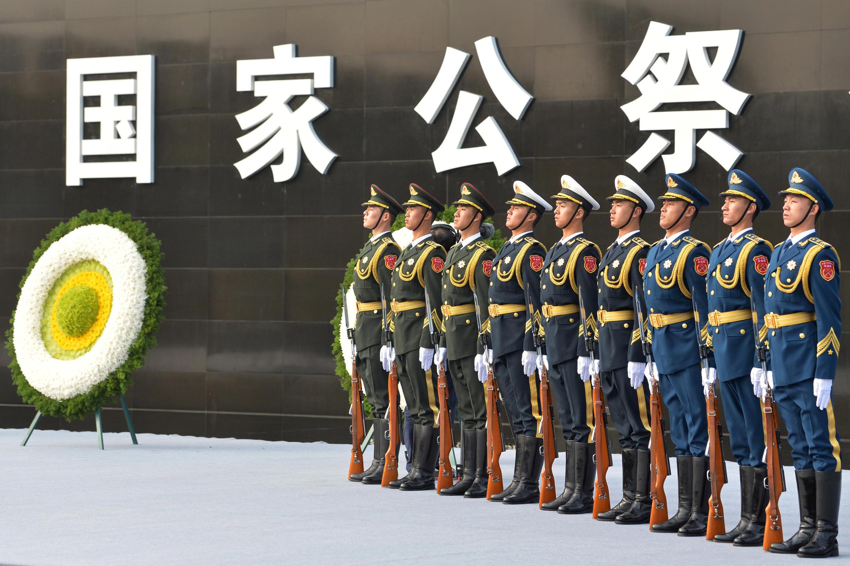 2017年12月13日,南京舉行南京大屠殺80周年紀念活動。