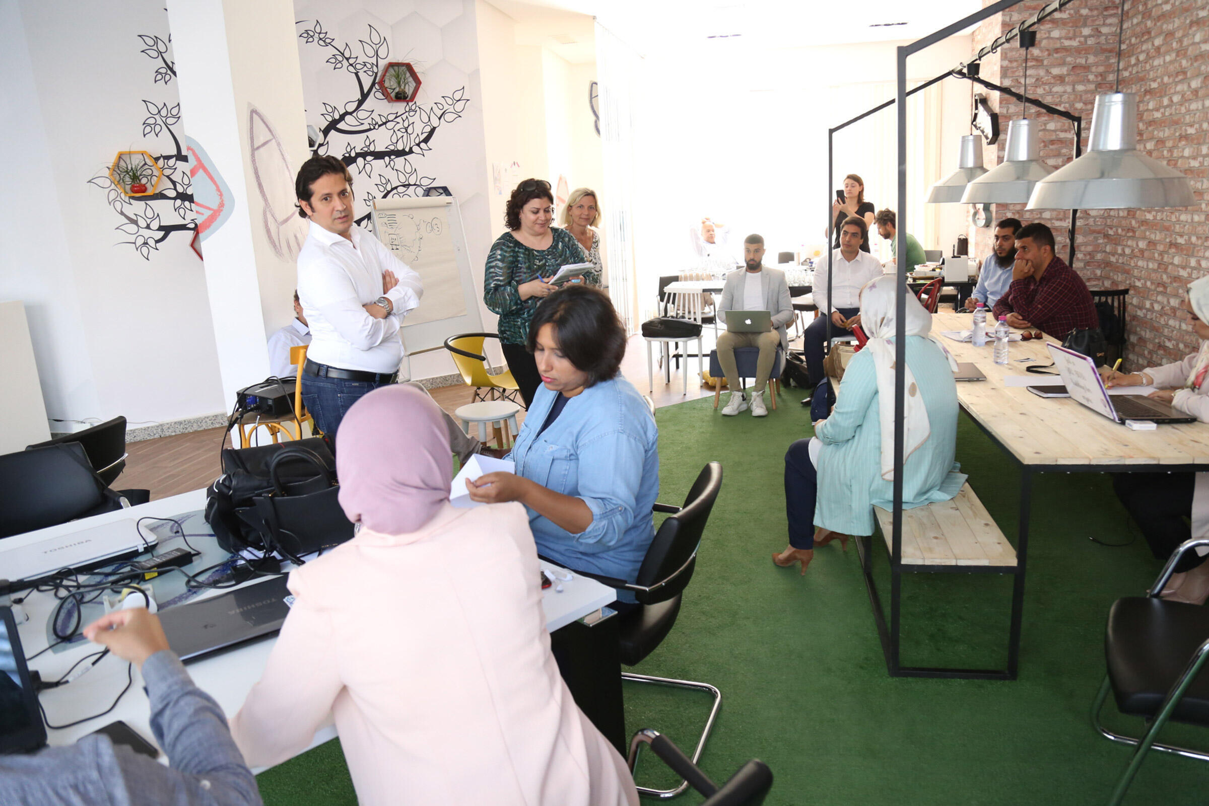 Libye - Tripoli - Start-up - Expertise France