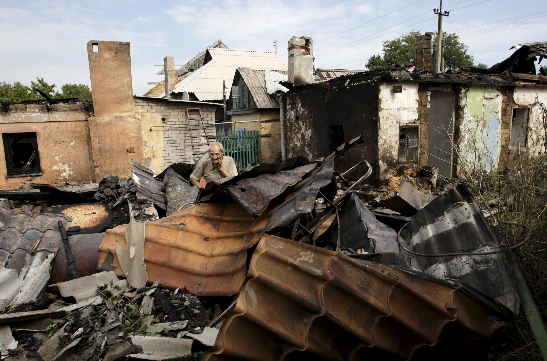 Resultado de novos ataques no leste da Ucrânia.