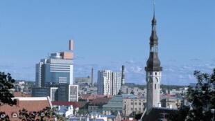 Une vue de Tallinn, la capitale estonienne.