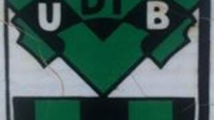 Emblema do clube de futebol guineense UDIB