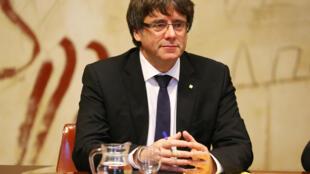 کارلس پوجدمون، رهبر استقلال طلبان کاتالونیا