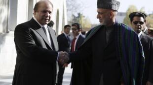 Shugaban kasar Afghanistan Hamid Karzai yana ganawa da Firaministan Pakistan Nawaz Sharif shugabannin da ke fama da hare haren Taliban