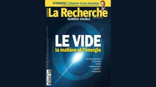 Magazine La Recherche, couverture du mois de juillet 2020.
