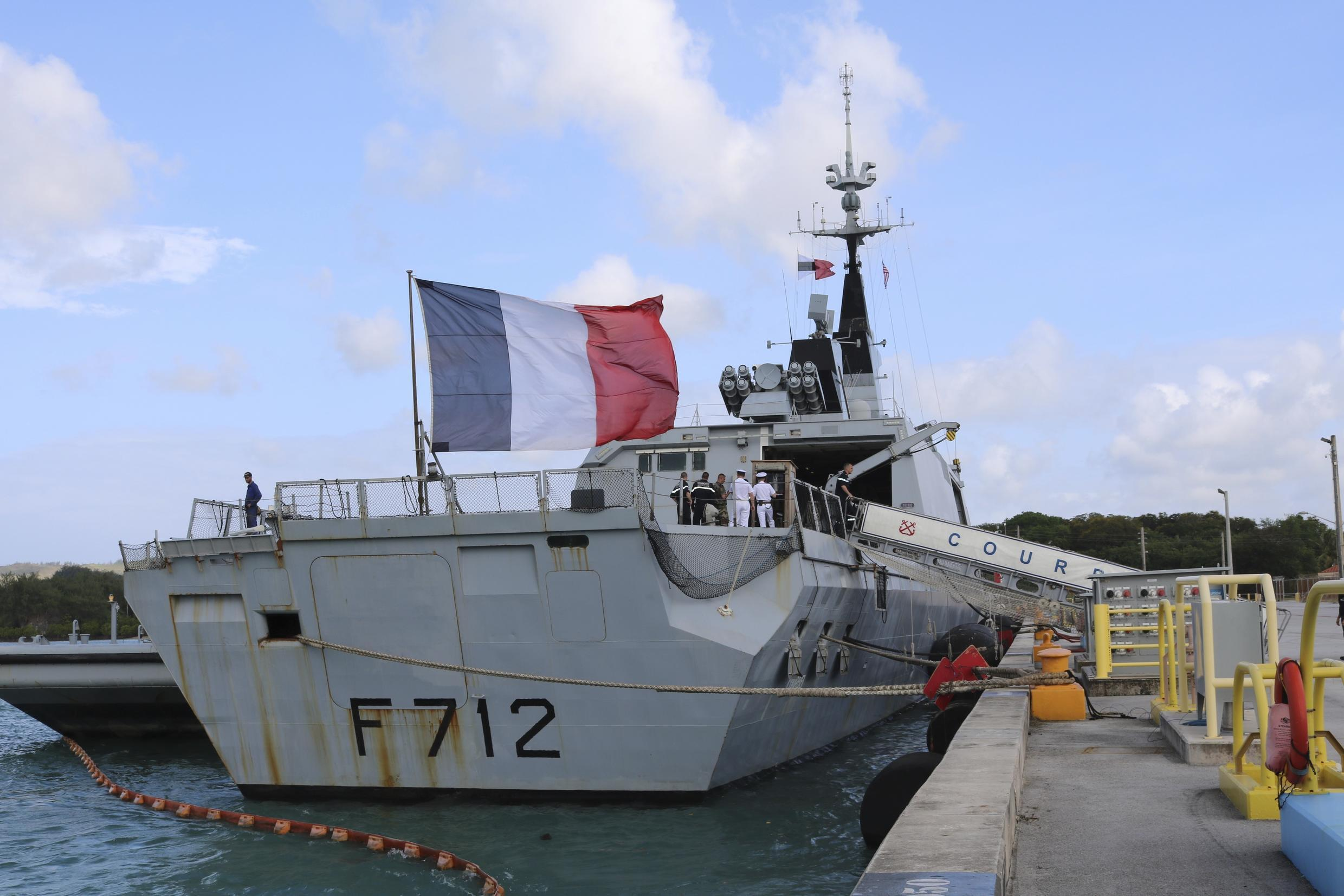 France accuses a Turkish warship of being aggressive towards its frigate Courbet in June after it tried to inspect a vessel over suspicions of violating a UN arms embargo on Libya.