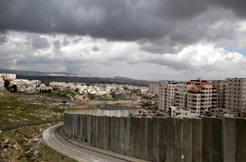 图为东耶路撒冷一隅远眺