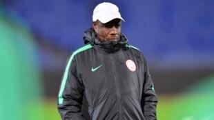 Mataimakin Kociyan Super Eagles Salisu Yusuf.