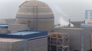 Nhà máy điện hạt nhân Shin-Kori, ngoại ô Busa, Hàn Quốc (ảnh chụp ngày 29/05/2013)