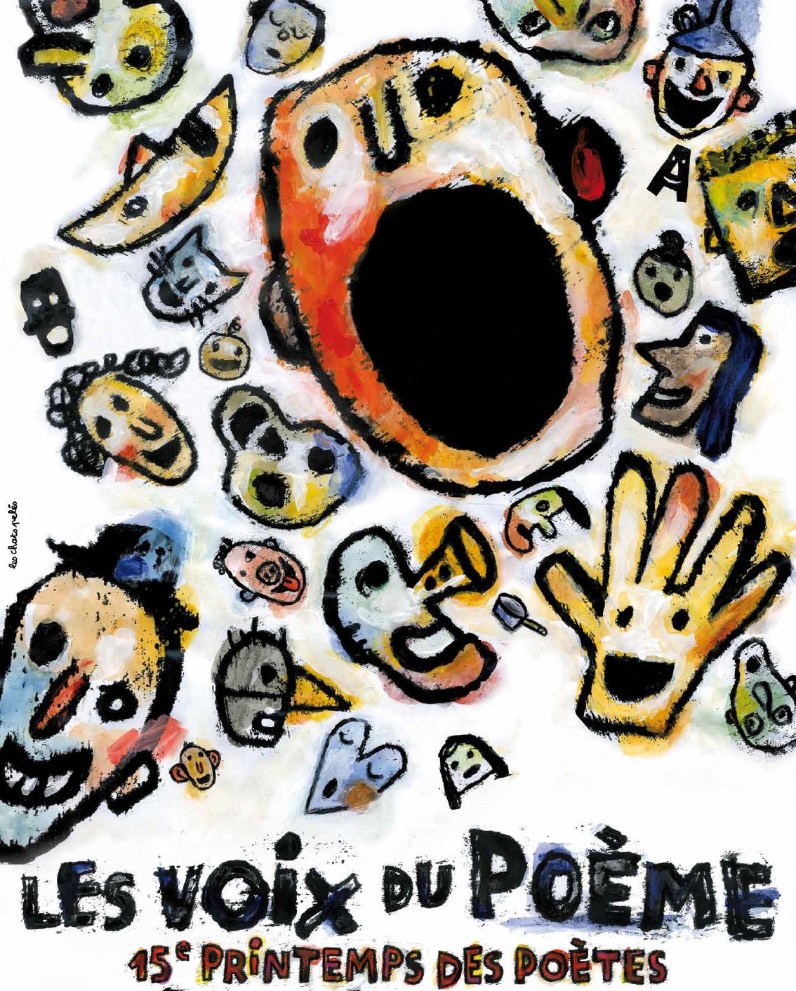 Poster of Le Printemps des poètes 2013