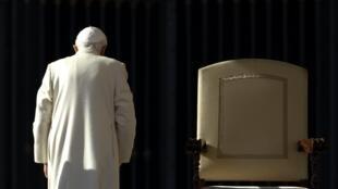Benoît XVI, le 16 novembre 2011.
