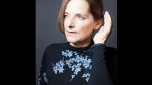 Portrait de la romancière Marie Nimier.