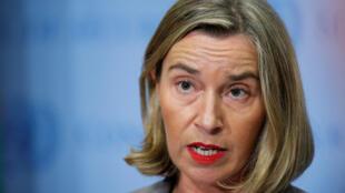 Les trois pays de l'UE impliqués dans la conclusion de l'accord sur le nucléaire de 2015 ont annoncé l'entrée en vigueur le 7 août du statut de blocage dans un communiqué conjoint avec la cheffe de la diplomatie de l'UE Federica Mogherini.