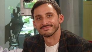 El pianista de jazz francés Pablo Campos en RFI