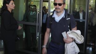 9月30日,联合国化学武器专家组离开大马士革